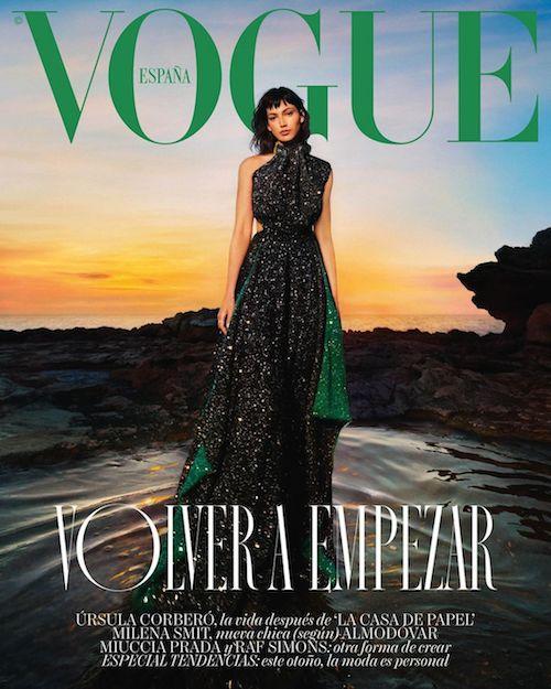 233987765 1956463551183842 3002662212168047494 n Ursula Corberò conquista la cover di Vogue Spagna