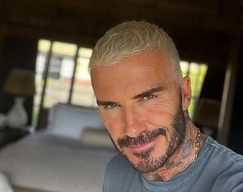 avid beckham David Beckham, capelli ossigenati per lestate 2021
