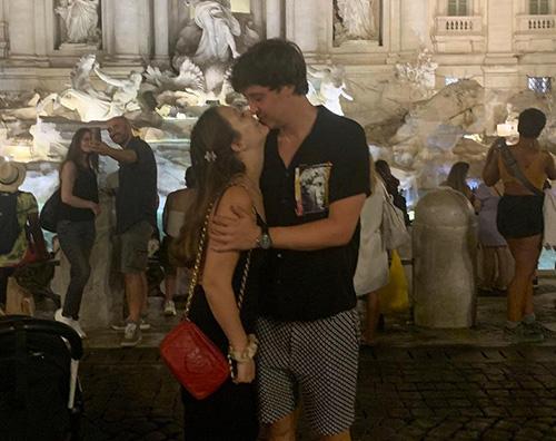 billie lpurde Billie Lourde in love a Roma