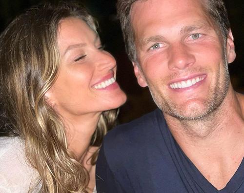 Gisele Bunchen festeggia il compleanno di Tom Brady