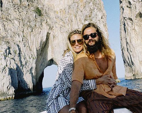 heidi klum 1 Heidi e Tom festeggiano due anni di matrimonio