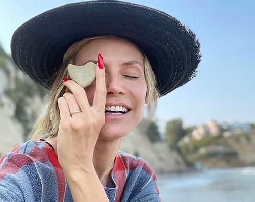 heidi klum 2 Heidi Klum parla della sua ossessione sui social