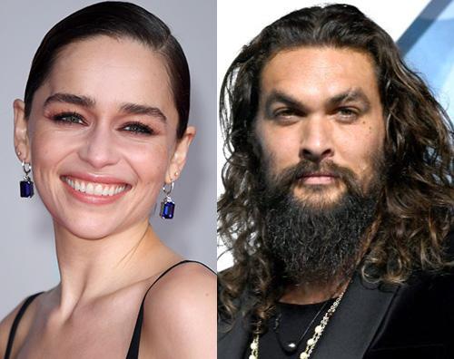 jason emilia Emilia Clarke e Jason Momoa reunion sui social