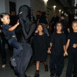 kim kardashian 1 150x150 Kim Kardashian mascherata per il party di Kanye West