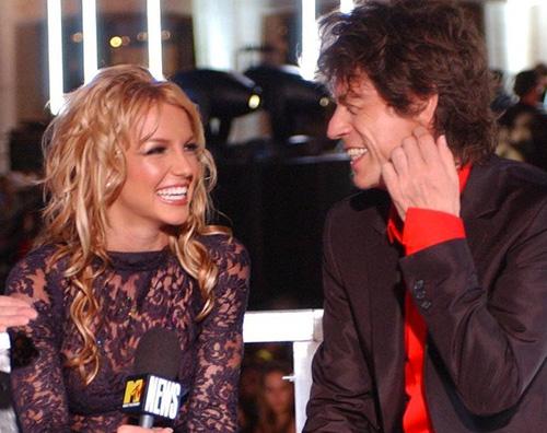 britney spears 1 Britney Spears ricorda la sua esibizione con Mick Jagger