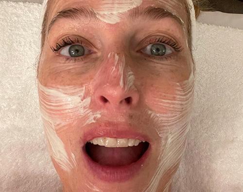 gillian  Gillian Anderson, maschera di bellezza prima degli Emmy