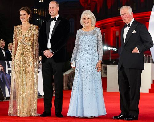 kate middleton 1 Kate Middleton incanta alla prima di 007 No Time to Die