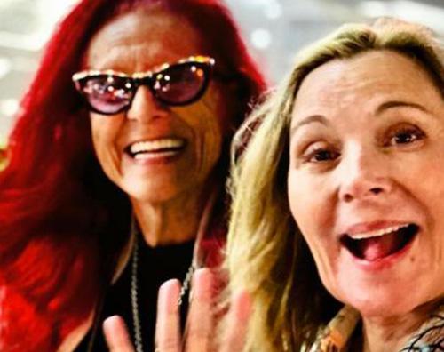 kim cattrall Kim Cattrall e Patricia Field, reunion a New York