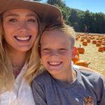 hilary 2 150x150 Hilary Duff a caccia di zucche con la famiglia