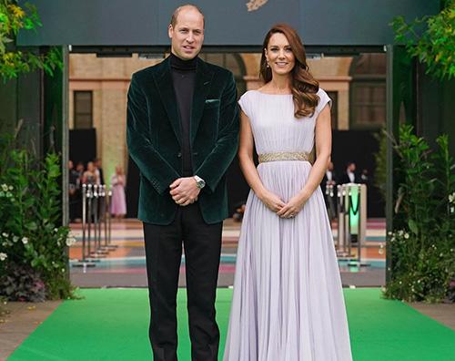 William e Kate incantano agli Earth Shot Prize 2011
