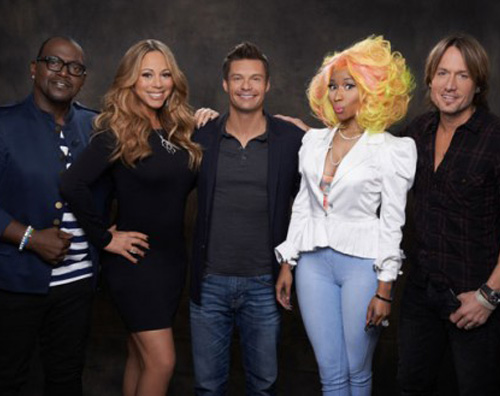 idol1 Mariah Carey e Nicki Minaj lasciano American Idol