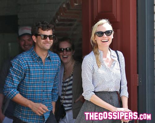 joshua diane1 Matrimonio in vista per Diane Kruger e Joshua Jackson?