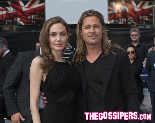 world war.premiere Angelina Jolie torna sul red carpet dopo la mastectomia